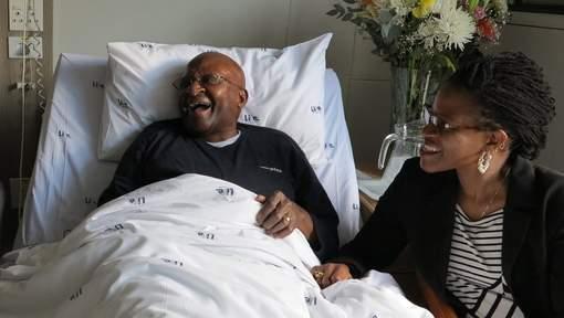 Desmond Tutu hospitalisé pour une infection
