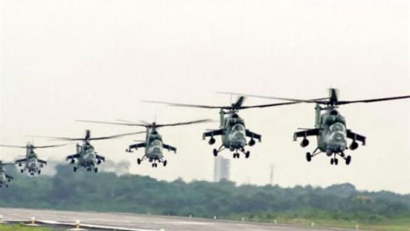 Le Nigeria achète 12 hélicoptères d'attaque Mi-35M à la Russie
