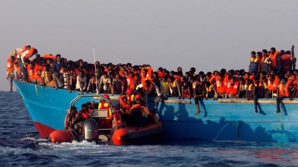 Six cent cinquante migrants secourus en Méditerranée