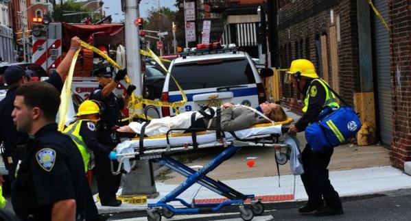 Un train déraille dans le New Jersey, 3 morts, 100 blessés