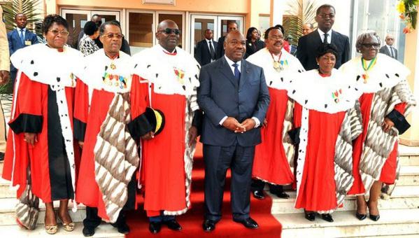 GABON : Bongo a présidé son 1er conseil supérieur de la magistrature de son second septennat