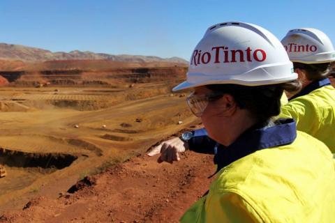 RIO TINTO: Chinalco devrait reprendre le projet minier de Simandou en Guinée