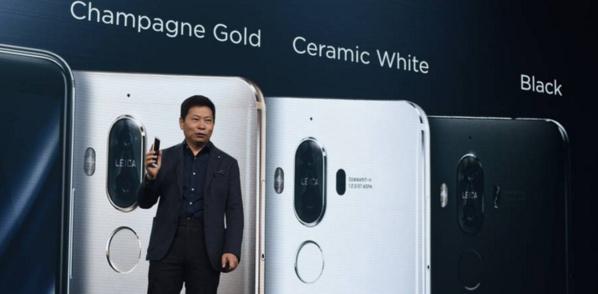 Huawei lance son téléphone Mate 9 pour rivaliser avec Apple et Samsung