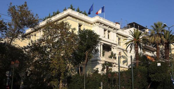 Engin explosif de faible puissance contre l'ambassade de France à Athènes