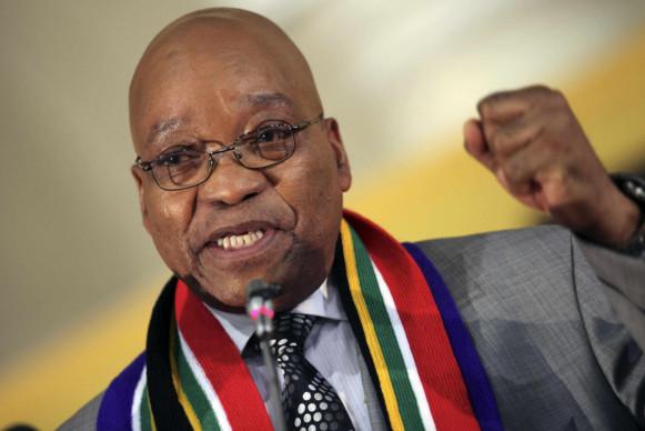 AFRIQUE DU SUD : Le président Zuma accuse l'Occident de vouloir déstabiliser l'ANC