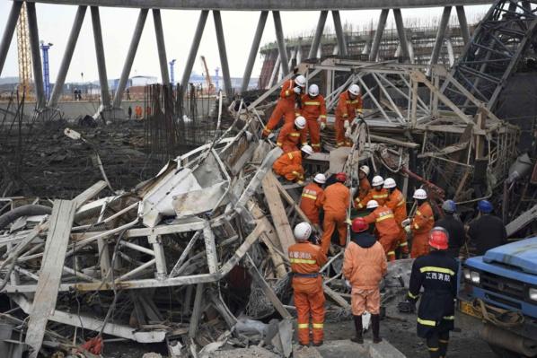 CHINE: Au moins 67 morts dans un accident de chantier