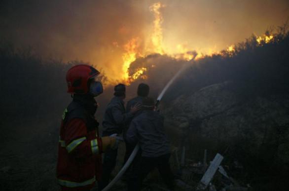 ISRAËL: De gigantesques feux de végétation à Haïfa depuis trois jours