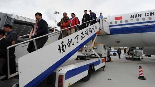 Marre des retards: Le pilote chinois organise une manif au pied de l'avion