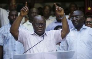 GHANA: le candidat de l'opposition remporte la présidentielle avec 53% des voix