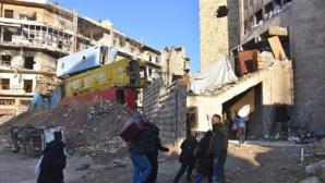 SYRIE - Nouvel accord pour un cessez-le-feu et une évacuation d'Alep