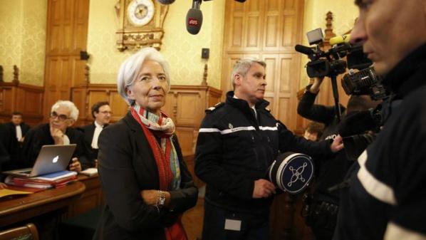 Lagarde reconnue coupable mais dispensée de peine