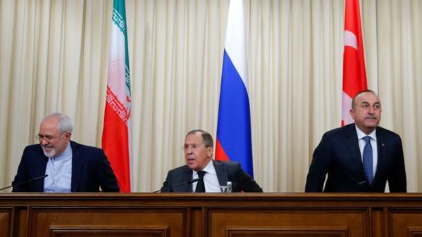 La troïka (Russie, Iran et Turquie) adopte une Déclaration sur la Syrie