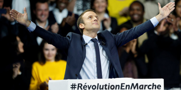Emmanuel Macron, personnalité politique de l'année