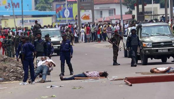 Les manifestations anti-Kabila en RDC ont fait 34 morts, selon HRW