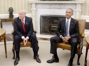 Trump accuse Obama d'entraver la transition