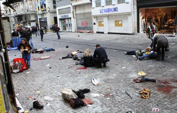 Turquie: au moins 35 morts dans l'attaque terroriste contre une discothèque d'Istanbul