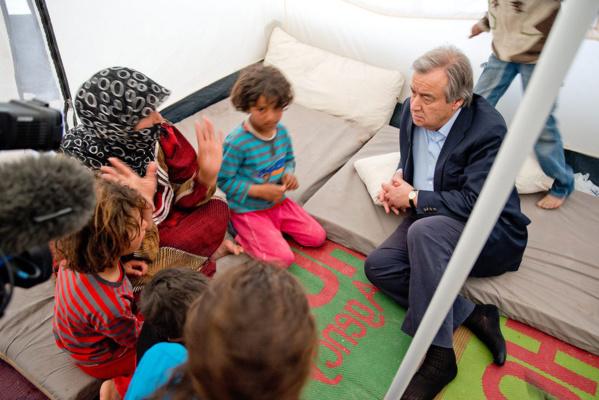 António Guterres – La biographie du nouveau chef de la diplomatie mondiale