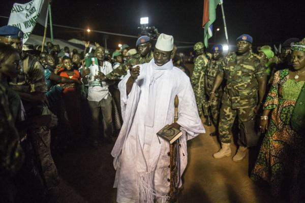 JAMMEH : « Nous défendrons notre pays, la Gambie, contre toute agression »