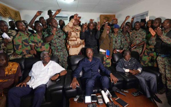 Côte d'Ivoire: libération du ministre de la Défense qui a quitté Bouaké
