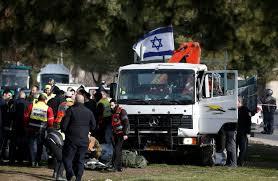 Quatre soldats israéliens tués dans une attaque au camion à Jérusalem