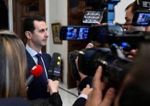 """Le discours de Fillon est le """"bienvenu"""", dit Bachar Al-Assad"""