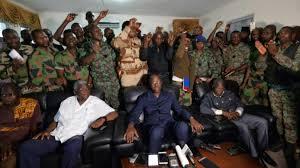 Côte d'Ivoire: les militaires mutins dispersent des manifestants avant l'arrivée du ministre