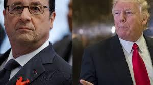 """Hollande à Trump: l'UE """"n'a pas besoin de conseils extérieurs pour lui dire ce qu'elle a à faire"""""""
