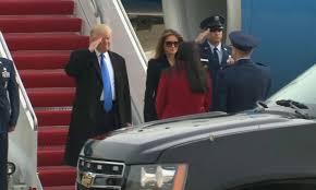 Donald Trump est arrivé à Washington pour son investiture vendredi