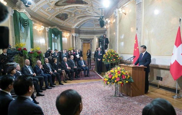 La coopération sino-suisse, un partenariat en chiffres