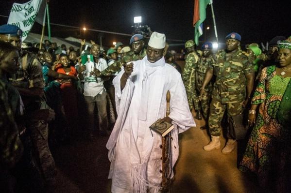 Yahya Jammeh s'installe en Guinée Equatoriale