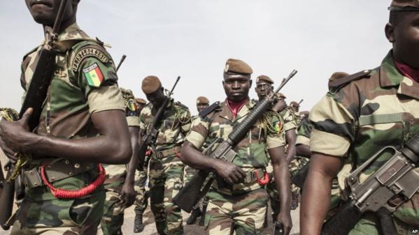Des soldats de la force ouest-africaine accueillis en héros en Gambie