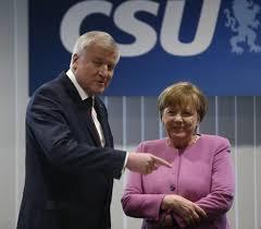 Merkel rencontre la CSU pour définir une stratégie électorale