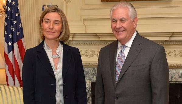 """L'UE avertit les Etats-Unis: """"n'interférez pas dans la politique européenne"""""""
