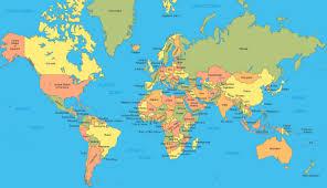 La carte diplomatique du Sénégal