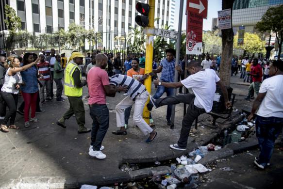 Afrique du Sud: vives tensions après une vague d'incidents xénophobes