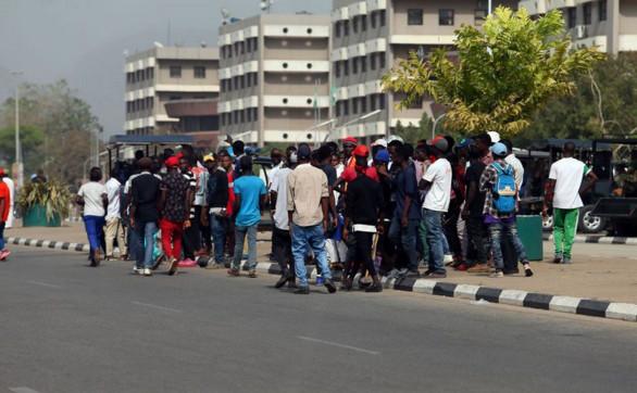 Des manifestants nigérians exigent l'expulsion des Sud-Africains