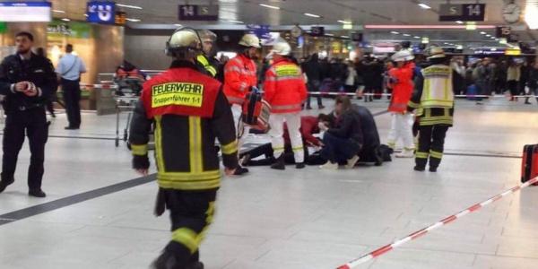 Allemagne: attaque à la hache à la gare de Dusseldorf, au moins 5 blessés