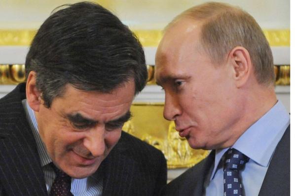 Fillon a mis en relation un des clients de 2F avec Vladimir Poutine (Canard enchaîné)