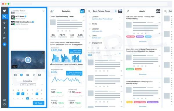 Twitter pourrait lancer une version payante de Tweetdeck