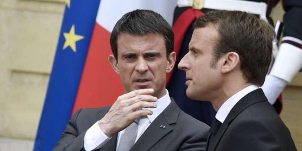 Valls et ses soutiens divisés à propos de Macron