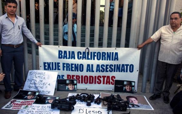 Au Mexique, série noire en mars pour les journalistes