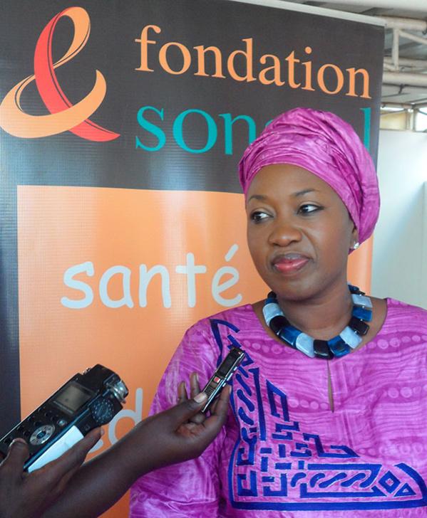 Aminata Fall Sidibé, administration de la Fondation Sonatel