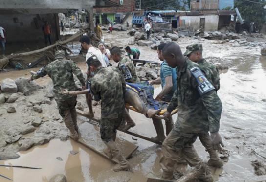 Colombie: Le bilan de la coulée de boue passe à 234 morts