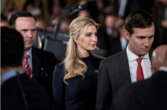 Ivanka Trump et son mari toujours liés à leurs affaires