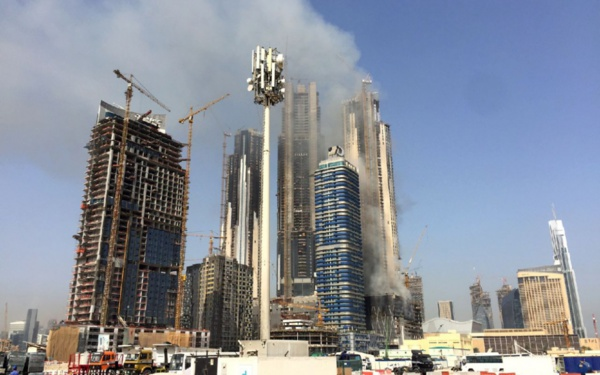 Dubaï : un nouvel incendie près de la plus haute tour du monde