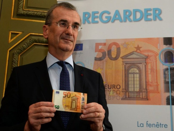 Un nouveau billet de 50 euros lancé dans les 19 pays de la zone euro