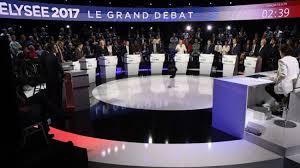 Passe d'armes sur l'Europe lors du débat à 11 candidats