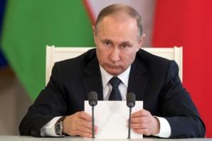 Poutine nie l'attaque et la présence d'armes chimiques en Syrie