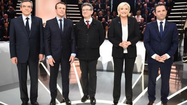 Le Pen devance Macron, Fillon et Mélenchon à égalité, selon un sondage Ifop