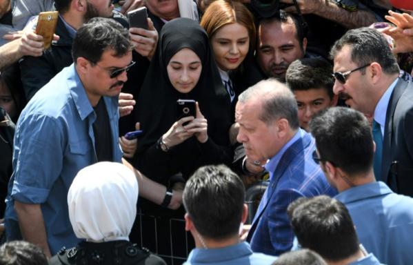 Erdogan: le référendum est un vote pour l'avenir de la Turquie